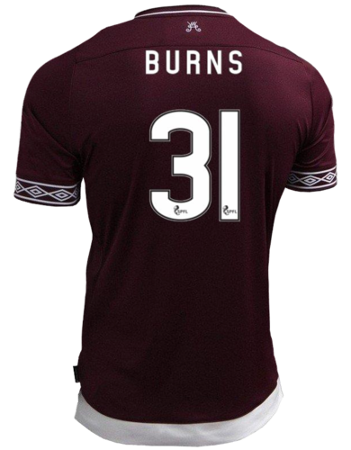 Get Your Burns Jersey Now!