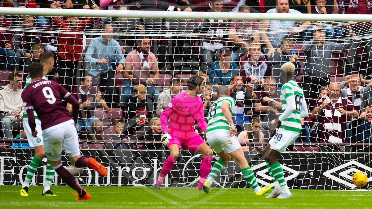 Kyle Lafferty opens the scoring